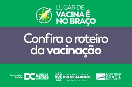 DUQUE DE CAXIAS PROMOVE VACINAÇÃO DE PRIMEIRA DOSE PARA PESSOAS DE 40 ANOS OU MAIS NESTE DOMINGO (04)